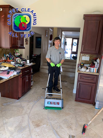 tito cleaning tile